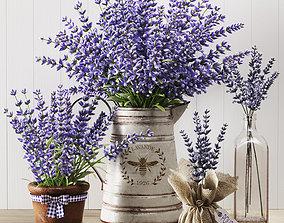 Lavender Still Life 3D model