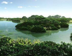 Lagoon in Vue 3D model