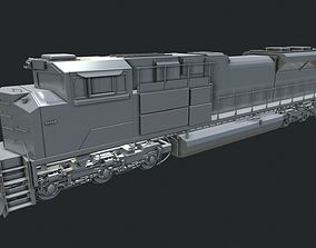 3D sd70 EMD-SD70ACe Locomotion