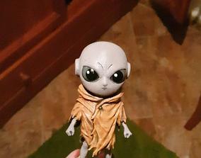 Kid Jiren Statue 3D Printing