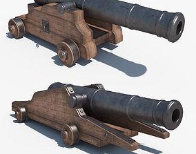 Cannons Set 3D model