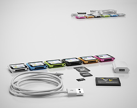 3D iPod nano mp3 player