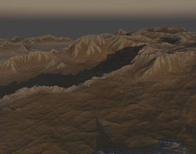 Rocky Planet Surface 3D