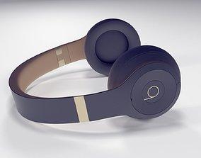 Apple Beats Studio3 Wireless OverEar 3D model
