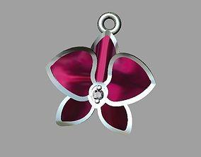 Orchid charm 3D print model