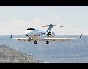 Challenger 300 Midsize Jet 3D model