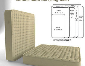 Double Mattress King Size 3D