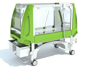 3D Pediatric Medical Hospital Bed