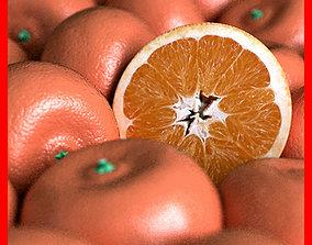 Orange Tangerine Mandarin Clementine 3D model