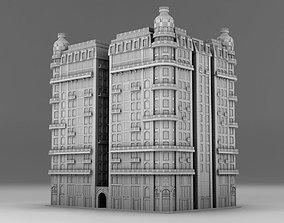 hotel Chicago york 3D printable model