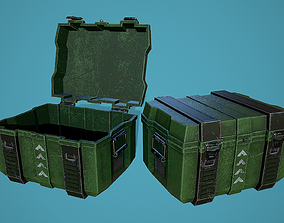 3D asset Ammunition box