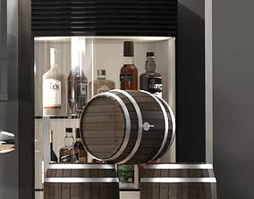 Bar alcohol 26 3D