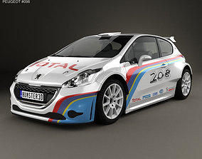 Peugeot 208 R5 2013 3D model
