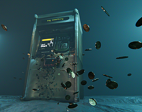 MTA vending machine 3D