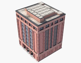 Office Library Building 3D model