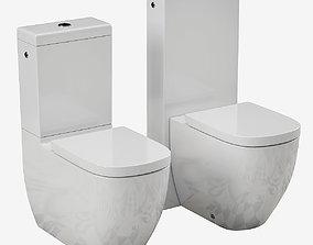 3D model Laufen PALOMBA toilet Part 3