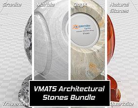 3D model VMATS - Architectural Stones Bundle
