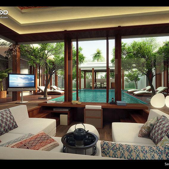 Resort at Sanur, Bali