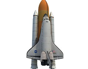3D NASA Atlantis Space Shuttle