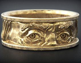 Franklin eyes Ring 3D print model