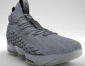 Nike LeBron 15 Basketball PBR 3D model