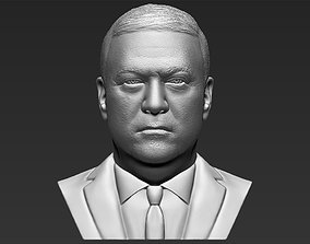 Mike Pompeo bust 3D printing ready stl obj