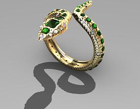 3D printable model Medicine Snake Ring
