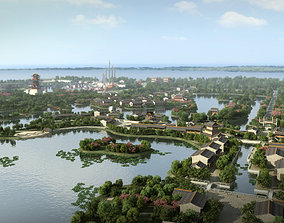 Chinese classical garden 009 3D model