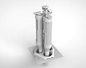 3D model Sci Fi Modular Environment 6