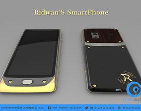 3D model microsd RidwanS SmartPhone