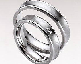 Wedding rings Hotwlz 3D printable model
