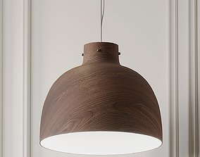 3D model Bellissima Wood Pendant Light By Ferruccio