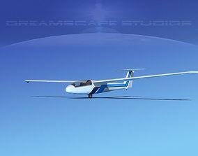 3D rigged Letov Superblanik airplane
