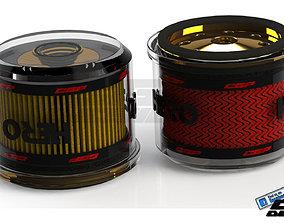 3D model PINKI Oil filterdesigned by HERO