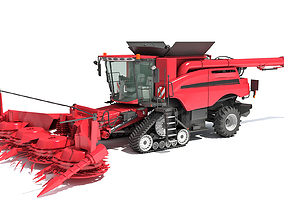 3D model Forage Harvester 2020