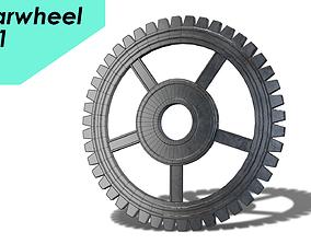 gearwheel0001 3D asset