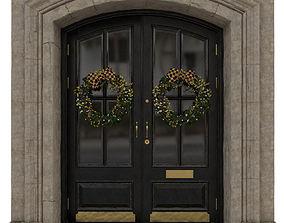 Entrance classic door 07 3D