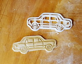Fiat 125 cookie cutter 3D print model