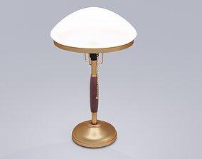 Table lamp 3D model lampshade illuminator