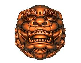 Lionhead 3D printable model