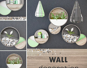 Wall decoration plant 3D model