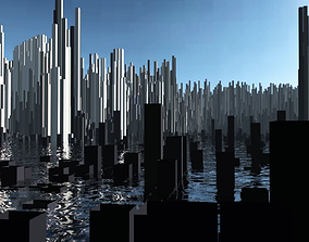 3D street Cubic New York