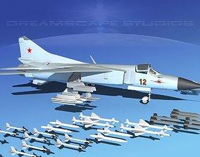 3D model Mig 23 Flogger B V01 USSR