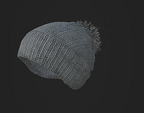 Woolen Hat Beanie 3D