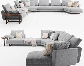 Porada Abacus sofa complect E 3D model