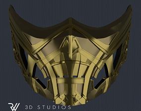 Scorpion New Mask - Mortal Kombat Movie 3D print model 3