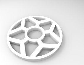 snowflake 3D printable model