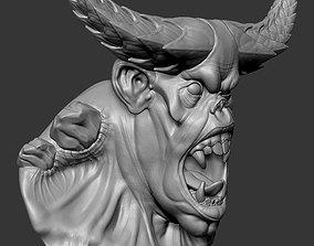 Demon creature 3D printable model