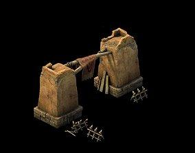 3D model Desert Gobi - Tribal Defense Tumen 02