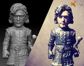 3D printable model Game of Thrones - Jon Snow NightWatch